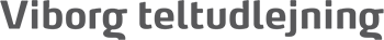 Viborg Teltudlejning Logo
